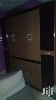 Queen Size Bed,Wardrobe And Bed Side Drawer | Furniture for sale in Greater Accra, South Labadi