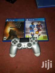 Ps4 PRO Controller And Cds   Video Game Consoles for sale in Ashanti, Adansi South