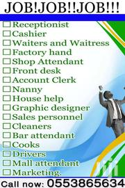 Waiters And Waitress Needed.. Interesting Persons Should Contact Us | Accounting & Finance Jobs for sale in Greater Accra, Ashaiman Municipal
