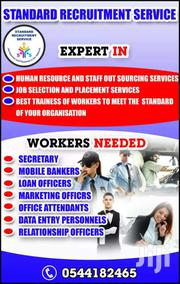 Receptionist / Waiters/Waitress | Clerical & Administrative Jobs for sale in Central Region, Awutu-Senya