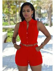 Loose Slim Jumpsuit With Belt. | Clothing Accessories for sale in Greater Accra, Teshie-Nungua Estates
