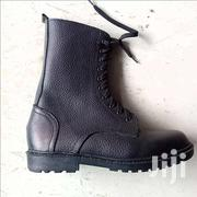 Quality Mens Black Leather Boots | Shoes for sale in Greater Accra, Ga West Municipal
