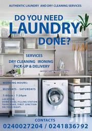 AUTHENTIC LAUNDRY & DRY-CLEANING SERVICES | Automotive Services for sale in Greater Accra, Ga East Municipal