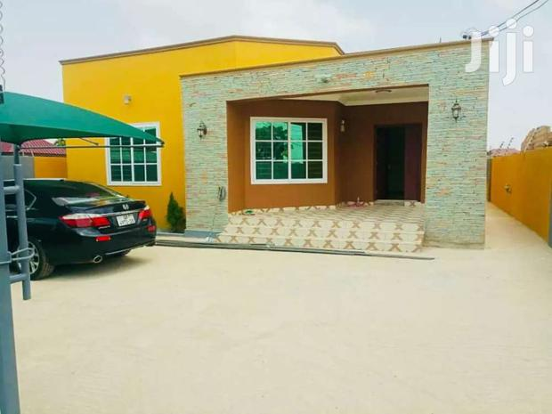 Archive: Three Bedrooms House Gated Community At East Legon Hills For Sale.