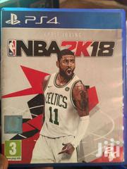 NBA 2k 18  Playstation 4 | CDs & DVDs for sale in Greater Accra, North Dzorwulu