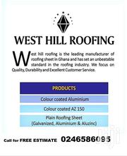 West Hill Roofing | Building Materials for sale in Greater Accra, Accra Metropolitan
