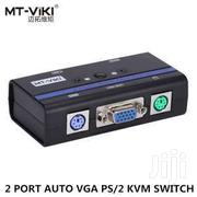 2 Port USB 2.0 VGA KVM Switch | Computer Accessories  for sale in Greater Accra, Dansoman