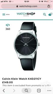 Calvin Klein Leather Watch | Watches for sale in Greater Accra, Ashaiman Municipal