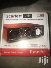 Sound Card Studio Recording (Focusrite) | Audio & Music Equipment for sale in Greater Accra, Dansoman
