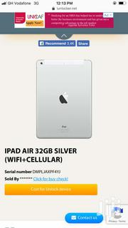 iPad Air 32gb Wifi Plus Cellular And Comes With SIM Slot | Tablets for sale in Eastern Region, Yilo Krobo