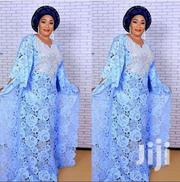 Blue Long Lace Dress | Clothing for sale in Greater Accra, Dansoman
