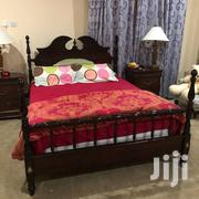 QUEEN SIZE BED FRAME WITH MATRESS | Furniture for sale in Greater Accra, Bubuashie