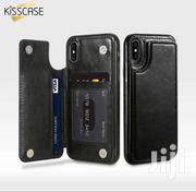 Kisscase Leather Wallet Back Case 4 iPhone Xsmax Xr Xs X 8plus Samsung | Accessories for Mobile Phones & Tablets for sale in Greater Accra, Darkuman