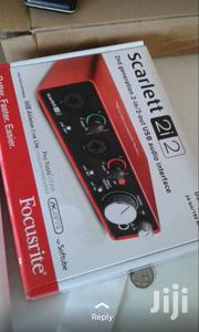 Focusrite 2i2 2nd Generation | Musical Instruments for sale in Greater Accra, Adenta Municipal