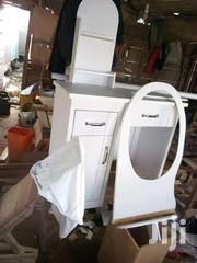 Promo White Dressing Morror With Chair For Sell Now | Furniture for sale in Greater Accra, Agbogbloshie