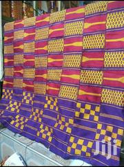 Executive Violet, Whine And Yellow Kente Cloth | Clothing for sale in Greater Accra, Labadi-Aborm
