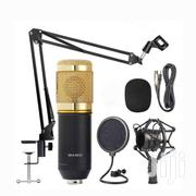 Professional Studio Condenser Microphone + Stand, Shock Mount & Pop | Audio & Music Equipment for sale in Greater Accra, Adenta Municipal