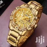 Naviforce Gold Watch | Clothing Accessories for sale in Brong Ahafo, Sunyani Municipal