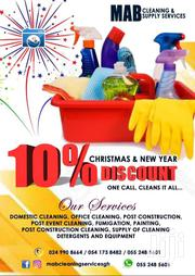 Commercial And Domestic Cleaning | Cleaning Services for sale in Greater Accra, East Legon