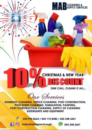Commercial And Domestic Cleaning