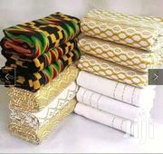 White Bonwire Kente Cloth Collection | Clothing for sale in Greater Accra, Labadi-Aborm