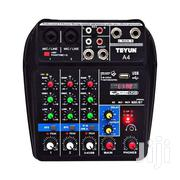 HD Professional 4 Channel Mixer With In-built Sound Card | Audio & Music Equipment for sale in Greater Accra, Ga West Municipal