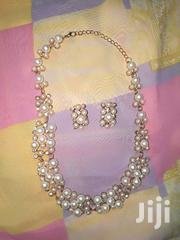 Pearls Necklace and Earrings Set   Jewelry for sale in Greater Accra, Tema Metropolitan