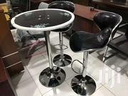 Cocktail Table With Tempered Glass And Two Bar Stool 1300ghc | Furniture for sale in Greater Accra, Accra Metropolitan