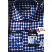 Long Sleeves Check Shirts | Clothing for sale in Greater Accra, Ga East Municipal