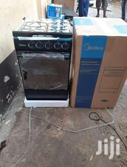 IGNITION_MIDEA 4BURNER GAS COOKER OVEN BLACK | Kitchen Appliances for sale in Greater Accra, Accra Metropolitan