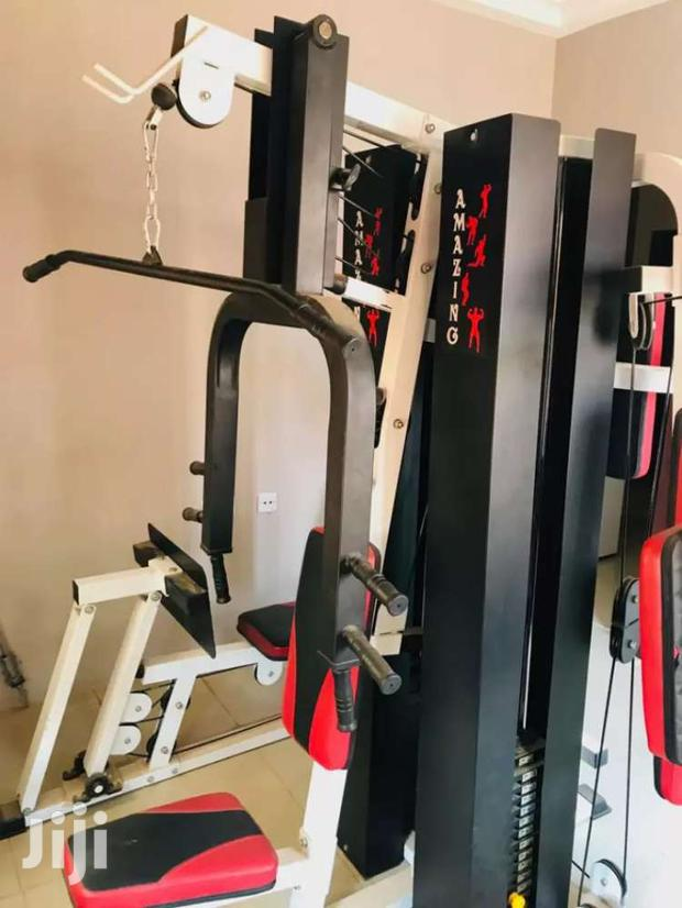 Archive: Multi Channel 6 in 1 Gym Set