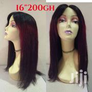 Mongolian Wine Black Wig Cap 16' On Sales | Hair Beauty for sale in Greater Accra, Accra Metropolitan