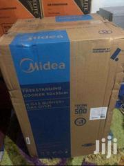 IGNITION_MIDEA GAS COOKER 4BUNER OVEN BLACK | Kitchen Appliances for sale in Greater Accra, Accra Metropolitan