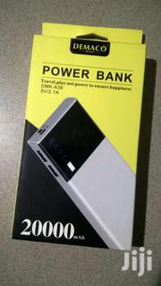 Demaco Power Bank With Multiple USB Ports &LED Screen-ghs 100 | Accessories for Mobile Phones & Tablets for sale in Greater Accra, East Legon
