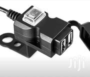 Waterproof 12V-24V Dual USB Motorbike/Motorcycle Handlebar Charger   Clothing Accessories for sale in Greater Accra, Adenta Municipal