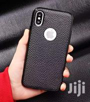 Litchi Leather Case For iPhone Xsmax Xr Xs X | Accessories for Mobile Phones & Tablets for sale in Greater Accra, North Labone