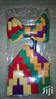 Kente Bow Tie And Hanky. | Clothing Accessories for sale in Greater Accra, Nungua East
