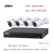 Dahua Xvr5104hs 4K 4ch Hdcvi +4pcs Hac-hfw1200s Penta-brid 2mp Hdcvi | Cameras, Video Cameras & Accessories for sale in Greater Accra, Tema Metropolitan