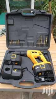 JCB 24v Cordless Battery Heavy Duty Drill Set | Electrical Tools for sale in Greater Accra, Kwashieman