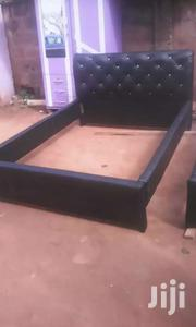 Quality Modernise Leather Beds At Promo Price. | Furniture for sale in Greater Accra, Abelemkpe
