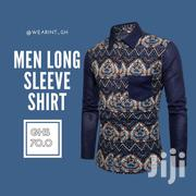Cotton Printed Men Long Sleeved Shirt | Clothing for sale in Greater Accra, Avenor Area