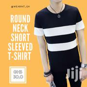 Round Neck Short Sleeved T-shirt | Clothing for sale in Greater Accra, Avenor Area
