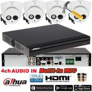 Dahua DVR Kit With 4pcs 1080P HAC-HFW1200DP Bullt Camera CCTV System | Cameras, Video Cameras & Accessories for sale in Greater Accra, Accra Metropolitan