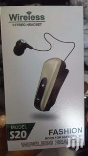 Bluetooth Headset S20 | Clothing Accessories for sale in Greater Accra, Kokomlemle