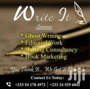Ghost Writing And Editing Services | Automotive Services for sale in Greater Accra, Dansoman