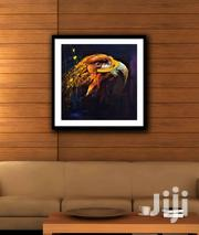 FOCUSED EAGLE PAINTING ( PRINT & FRAMED) | Arts & Crafts for sale in Western Region, Shama Ahanta East Metropolitan
