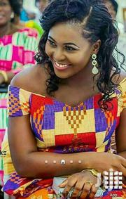 Yellow Beautiful Kente Clothes. | Clothing for sale in Greater Accra, Labadi-Aborm
