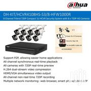 Dahua 1MP 720P HDCVI Kit 8CH HCVR4108HS-S3 + 8*HFW1000R Camera H.264 P | Cameras, Video Cameras & Accessories for sale in Greater Accra, East Legon