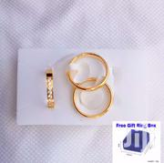 Never Fade 3 Set Finished Tungsten Goldplated Wedding Ring | Jewelry for sale in Greater Accra, Kwashieman