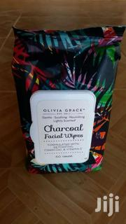 60 Count Charcoal Facial Wipes | Makeup for sale in Greater Accra, Ga East Municipal